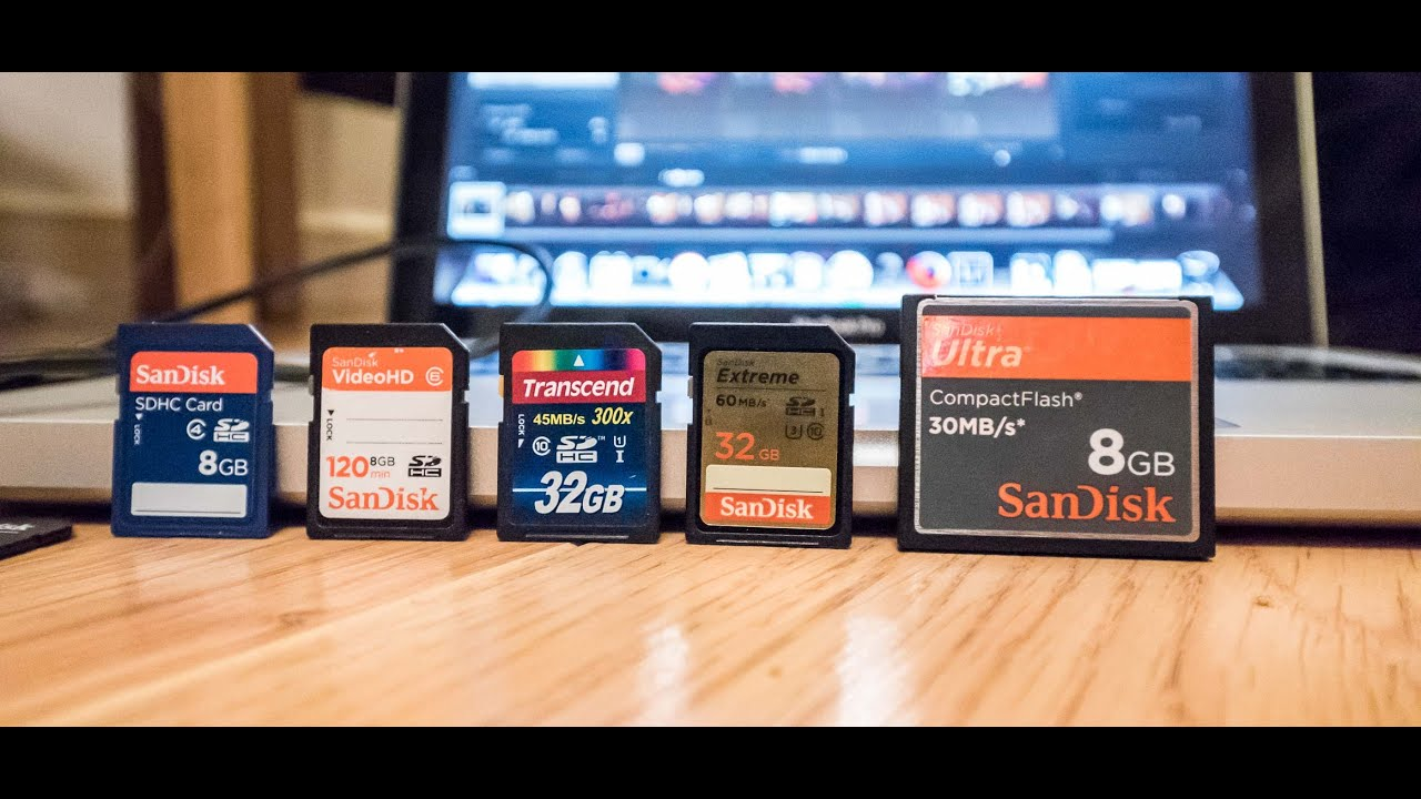 SD Memory Card Speed Tests: Nikon D810 Test Camera