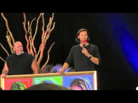 "VanCon 2013 - Jared/Gen ""French Mistake"" Paintings Auction"