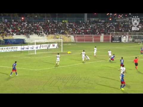 Amazing Save by Haziq (Johor dt) vs mohd suffian(terengganu fa) malaysia cup 2017 siapa lagi hebat?