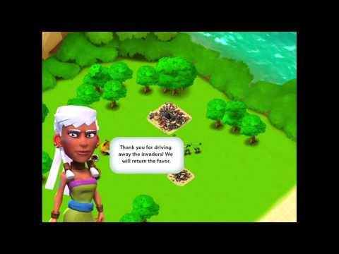 Boom Beach Gameplay - Supercells New Game!