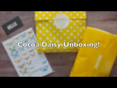 April Cocoa Daisy Unboxing || What travelers notebook will I use?