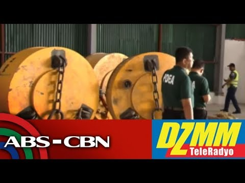 DZMM TeleRadyo: Customs chief, exec point fingers over drug links