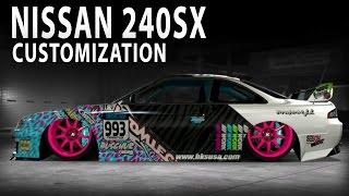 Midnight Club LA - Nissan 240SX (Customization)