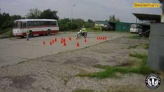 """Обучение вождению мотоцикла: мотошкола """"Байкадемия"""""""