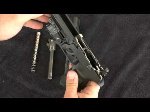 Sig P250 Cleaning Video