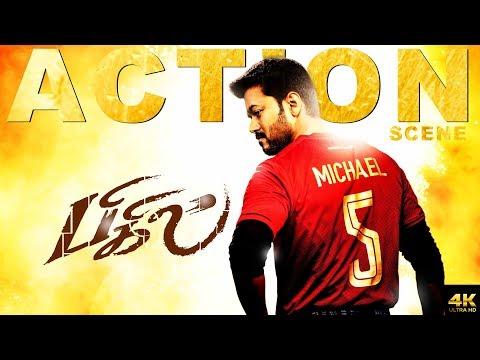 Bigil | 2019 Latest Tamil Movie | Action Scene | Vijay | Nayathara | 4k (English Subtitles)