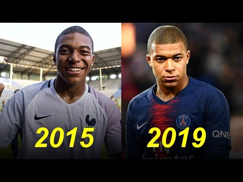 Kylian Mbappè Evolution From 16 To 20 Years Old