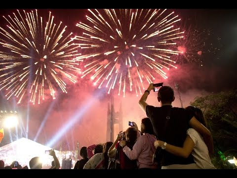Fireworks 2017 Dubai, Burj Khalifa, Paris, London, Beijing, Sydney, New Zealand, Taiwan
