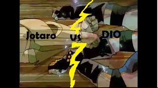 JoJo vs DIO (1993 OVA with 2015 dub)