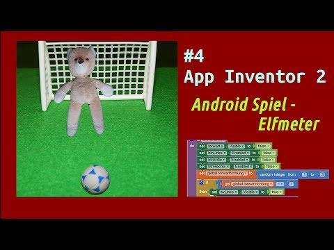 Ein Android Spiel mit App Inventor 2 programmieren [Elfmeter]