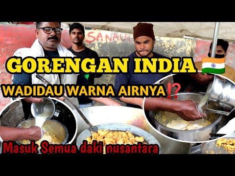 GORENGAN BAWANG INDIA🇮🇳‼️AIR ADONANNYA BENING BET⁉️ INDIAN STREET FOOD || KEHIDUPAN DI INDIA