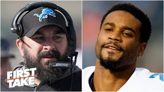 Reacting to Darius Slay saying he 'lost all respect' for Lions coach Matt Patricia | First Take