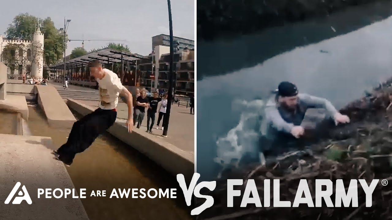 Painful Parkour Wins Vs. Fails & More! | People Are Awesome Vs. FailArmy