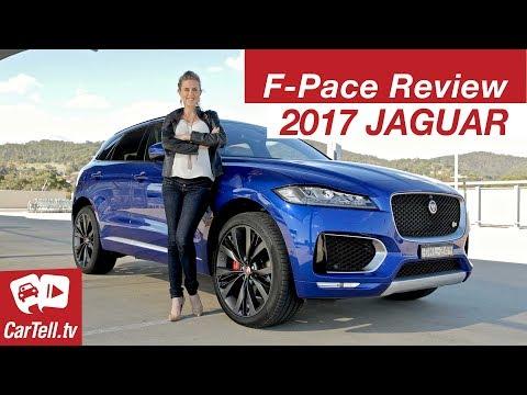 Jaguar F Pace 2017 Review CarTell.tv