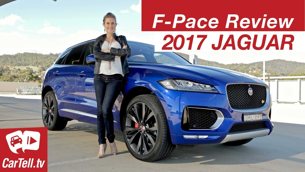 Jaguar F Pace 2017 Review Cartell Tv Youtube