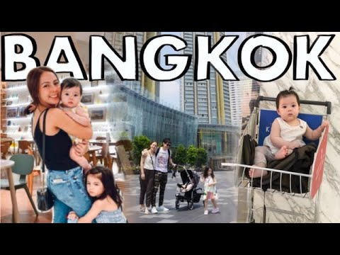 Exploring BANGKOK with Kids + Best Street Food Michelin Star- Jay Fai, Food Trip and Shopping
