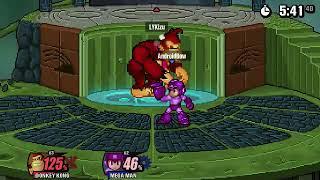 SSF2   Universe Classic XIX   Kizu (Donkey Kong) vs AndroidBowl5 (Megaman)   game 1 bo3