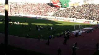 Wac-Raja 0-0 derby 105 du 16-11-08 fin du match . jamhor,