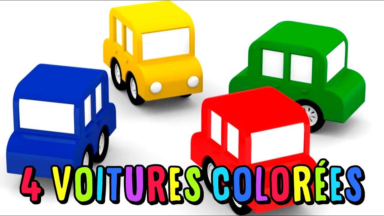 4 voitures colorees compilation des meilleurs episodes du dessin anime pour enfants