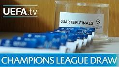 2015/16 UEFA Champions League quarter-final draw