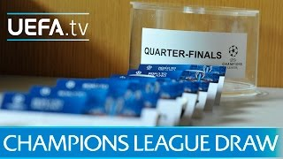 2015/16 UEFA Champions League quarter-final draw