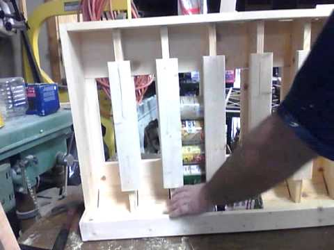 Attractive Wall Mount Can Storage Rack