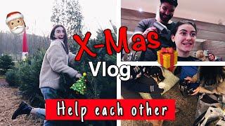 Weihnachtsbaum aussuchen, Friseur und Obdachlosen  helfen - Vlog  /MissNici