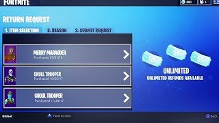 How To Get UNLIMITED Refunds For FREE In Fortnite! (New Method)