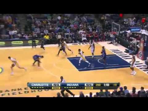 NBA 13/2/2013 - Charlotte Bobcats Vs Indiana Pacers Highlights