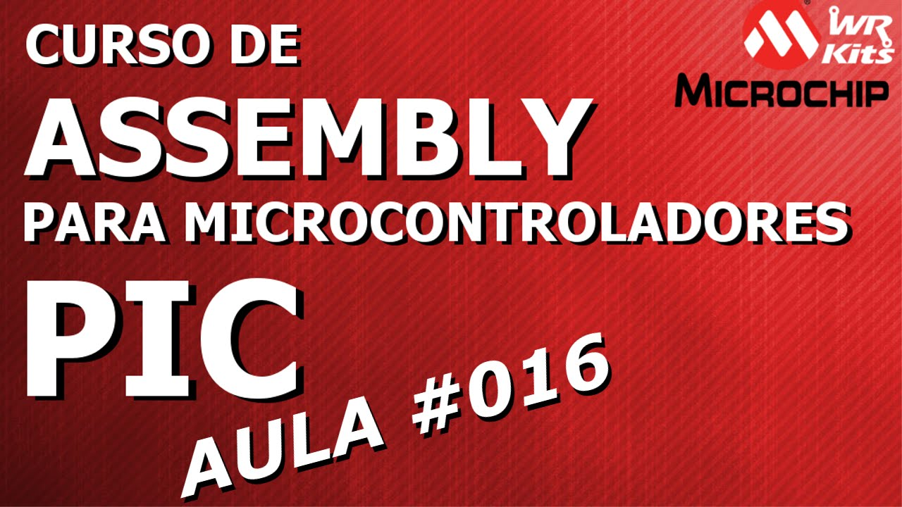 Microchip pic16f628 assembly code programs tutorial.