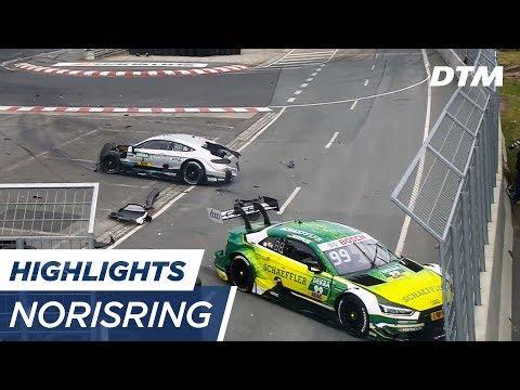 DTM Norisring 2017 - Extended Highlights #ThrowbackThursday