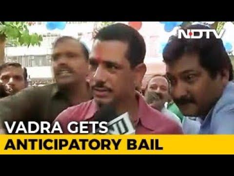 Robert Vadra Gets Anticipatory Bail Till Feb 16 In Money Laundering Case
