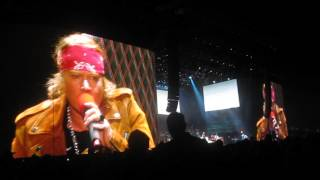 Patience - Guns N Roses @ Coachella Main Stage, 4/16/1016