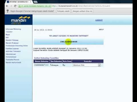 SoftwarePSR.com | Mutasi Mandiri 25 Januari 2013