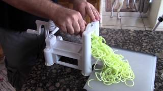 Vegetable Slicer Cutter Kitchen Peeler Tool Spiral Chopper Shred New Spiralizer