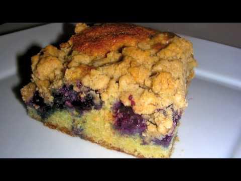 Buttermilk Blueberry Crumb Cake Recipe
