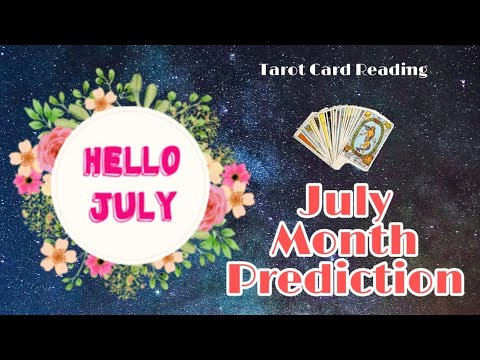 July Monthly Prediction ||What's Coming Up In JULY For You|| Tarot Reading In HIndi| Angels of Bliss from YouTube · Duration:  15 minutes 36 seconds