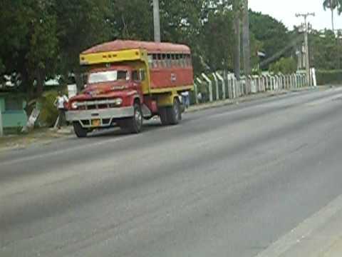 Transit system in Cuba