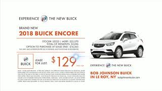 2018 Buick Encore Lease for Just $129/mo. NEW from Bob Johnson Buick in LeRoy, NY