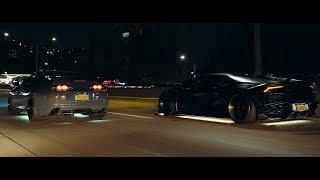 Dark Knights | Huracan & Supra | SchwaaFilms (4K)