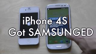 samsung galaxy s3 vs apple iphone 4s boot up test 2012 high end smartphones
