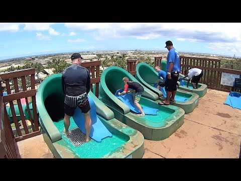 Volcano Express Water Slide at Wet 'n' Wild Hawaii