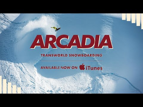 TransWorld SNOWboarding Presents Arcadia - Now Available on iTunes