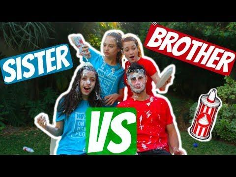 אחים vs אחיות   עם בר מיניאלי