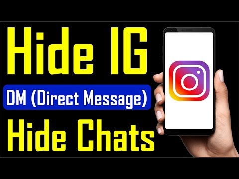HIDE SOMEONE'S CHAT ON INSTAGRAM  how To Hide Messages On Instagram 2019