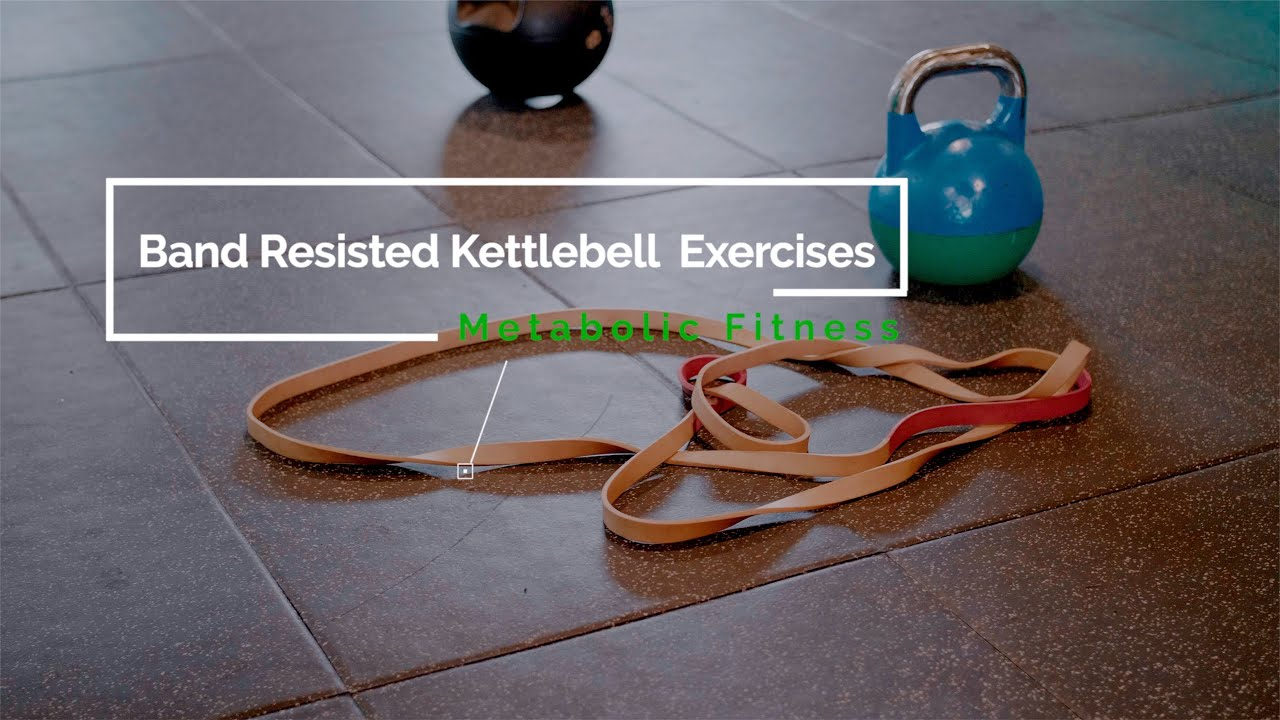 (VLOG POST) 3 Band Resisted Kettlebell Exercises You Need to Add Into Your Plan