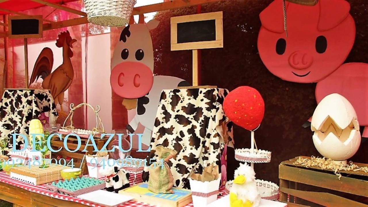 Granja decoracion de fiestas granja decoraciones de - Ideas decoracion pared ...