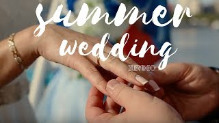Летняя свадьба на катере
