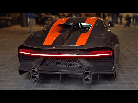Bugatti Chiron Super Sport 300+ with Straight Pipes START UP & REVS Feat. LOUD Quad-Turbo W16 Sounds