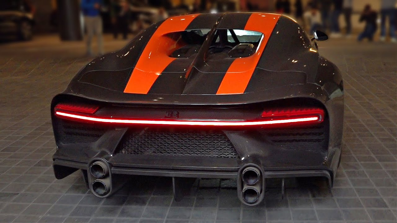 Bugatti Chiron Super Sport 300 With Straight Pipes Start Up Revs Feat Loud Quad Turbo W16 Sounds Youtube